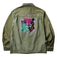 Liberaiders | PSYCHEDELIC BDU SHIRT - OLIVE