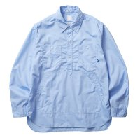 Liberaiders | TC PULLOVER SHIRT  - BLUE