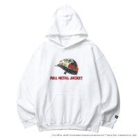 Liberaiders | FMJ PULLOVER HOODIE - WHITE