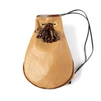 THE WONDER LUST | LEATHER TASSEL POUCH