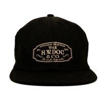 THE H.W. DOG&CO. | TRUCKER CAP-D D-00004 - BLACK