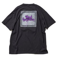 ANASOLULE | BLANK GENERATION T-SHIRT - C.BLACK