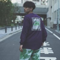 ANASOLULE | BLANK GENERATION L/S TEE - PURPLE