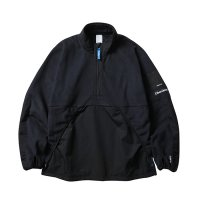 Liberaiders | POLARTEC ZIP PULLOVER - BLACK