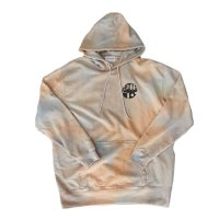 ANASOLULE | COUNTRY TRIBAL TIE DYE  HOODIE - SUNSET
