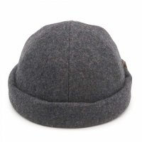 THE H.W. DOG&CO. | ROLLCAP MELTON D-00457 - GRAY
