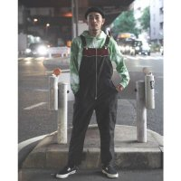 ANASOLULE | OVERALLS - BLACK