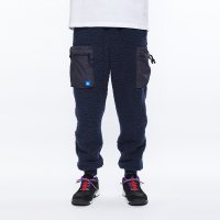 Liberaiders | PILE FLEECE PANTS - NAVY