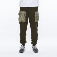 Liberaiders | PILE FLEECE PANTS - OLIVE