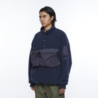 Liberaiders | PILE FLEECE PULLOVER - NAVY