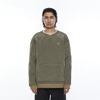 Liberaiders |QUILTED PULLOVER - OLIVE