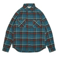 FIVE BROTHER | HEAVY FLANNEL WORK SHIRTS - BLUE CK