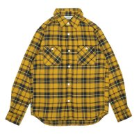 FIVE BROTHER | HEAVY FLANNEL WORK SHIRTS - MUSTARD CK