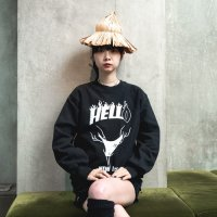 ANASOLULE | NEW LIFE CREWNECK SWEAT - BLACK
