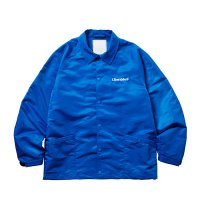 Liberaiders | EMBROIDERY COACH JACKET - BLUE