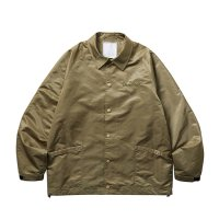 Liberaiders | EMBROIDERY COACH JACKET - BEIGE