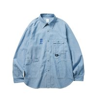 Liberaiders | R.P.L CHAMBRAY SHIRT - BLUE