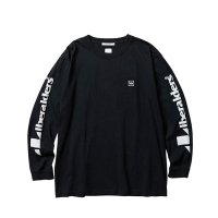 Liberaiders | TRIANGLE LOGO L/S TEE - BLACK