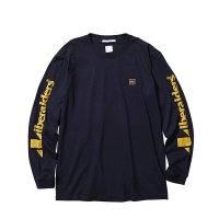 Liberaiders | TRIANGLE LOGO L/S TEE - NAVY