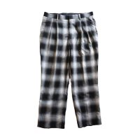 ANASOLULE | RELAXING TROUSERS PT - BLACK CHECK