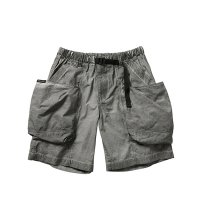 Liberaiders | OVERDYED UTILITY SHORTS - BLACK