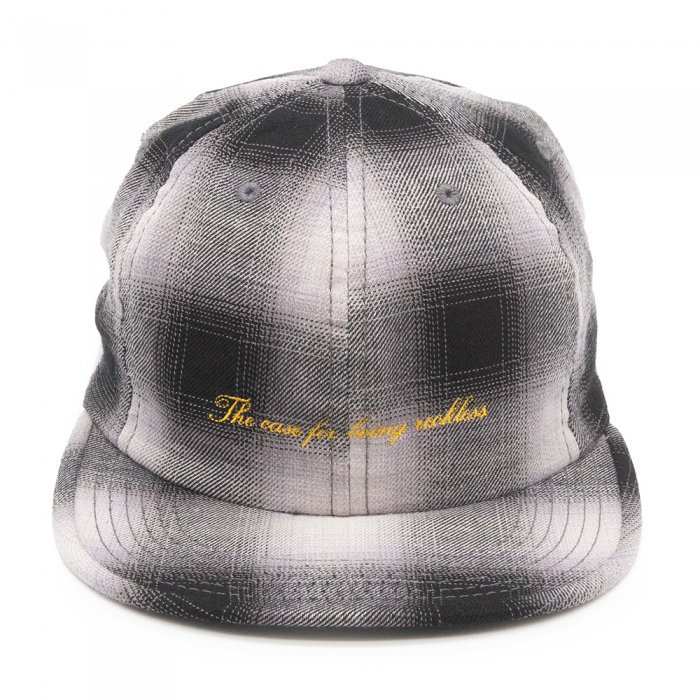 THE H.W. DOG&CO. | OLD CHECK CAP D-00523 - BLACK