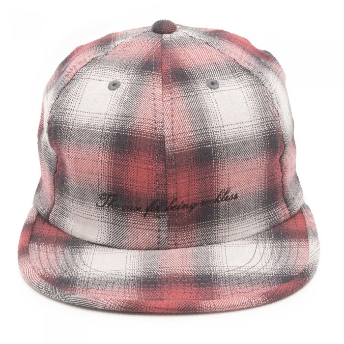 THE H.W. DOG&CO. | OLD CHECK CAP D-00523 - RED