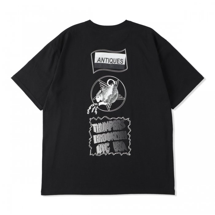 THUMPERS |  ANTIQUES S/S TEE - BLACK