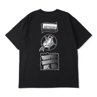 THUMPERS BROOKLYN NYC USA サンパース |  ANTIQUES S/S TEE - BLACK