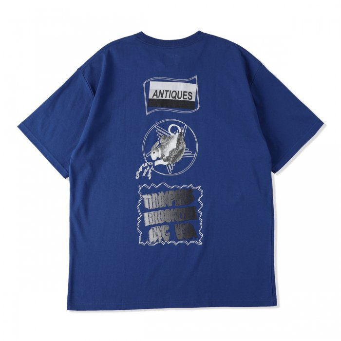 THUMPERS |  ANTIQUES S/S TEE - BLUE