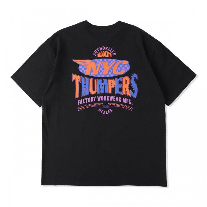 THUMPERS |  TEAM S/S TEE - BLACK