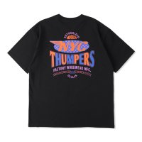 THUMPERS BROOKLYN NYC USA サンパース |  TEAM S/S TEE - BLACK