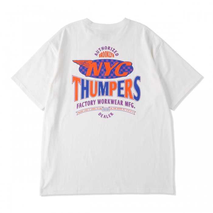 THUMPERS |  TEAM S/S TEE - WHITE
