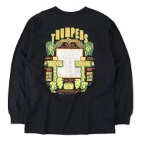 THUMPERS BROOKLYN NYC USA サンパース |  JESUS SCARES L/S TEE - BLACK