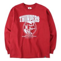 THUMPERS BROOKLYN NYC USA サンパース | INSTITUTE  L/S TEE - WINE