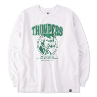 THUMPERS BROOKLYN NYC USA サンパース | INSTITUTE  L/S TEE - WHITE