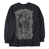 THUMPERS BROOKLYN NYC USA サンパース | WELCOME TO THE PARTY  L/S TEE - BLACK