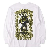 THUMPERS BROOKLYN NYC USA サンパース | WELCOME TO THE PARTY  L/S TEE - WHITE