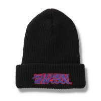 THUMPERS BROOKLYN NYC USA サンパース | JESUS SCARES BEANIE - BLACK