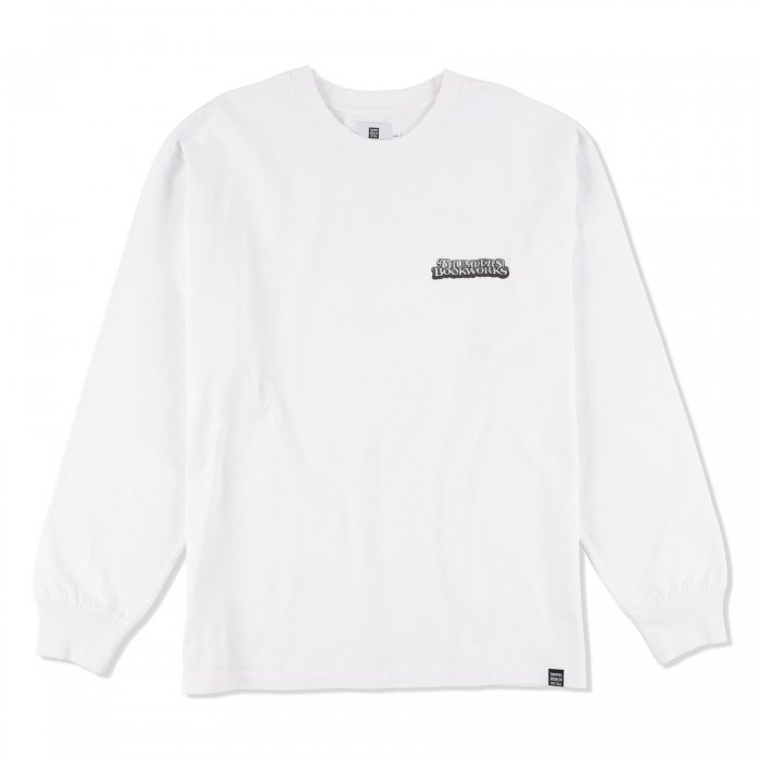 THUMPERS BROOKLYN NYC USA サンパース | ×BOOKWORKS MR WEATHER L/S TEE - WHITE