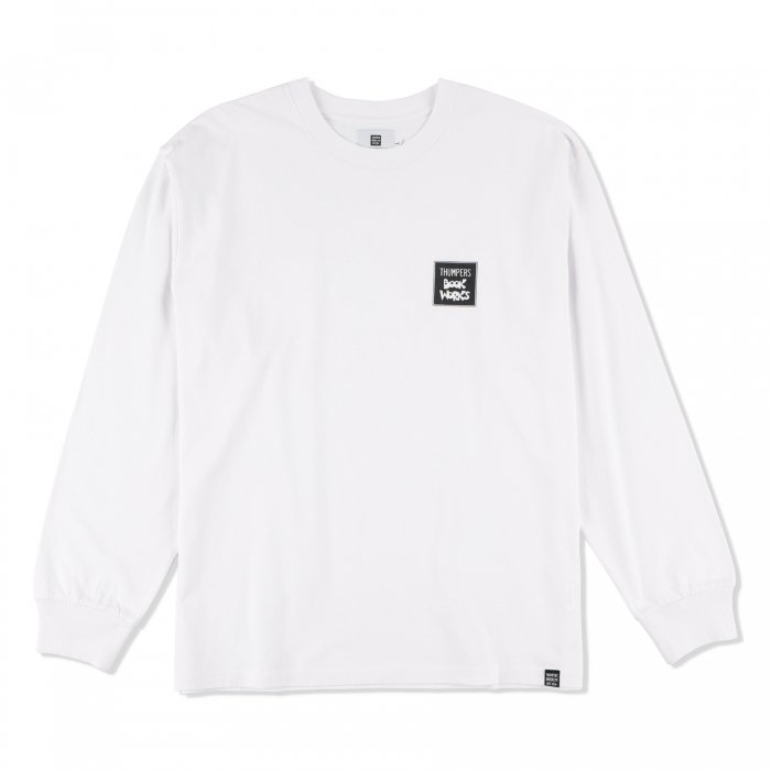 THUMPERS BROOKLYN NYC USA サンパース | ×BOOKWORKS BEGINNING L/S TEE - WHITE