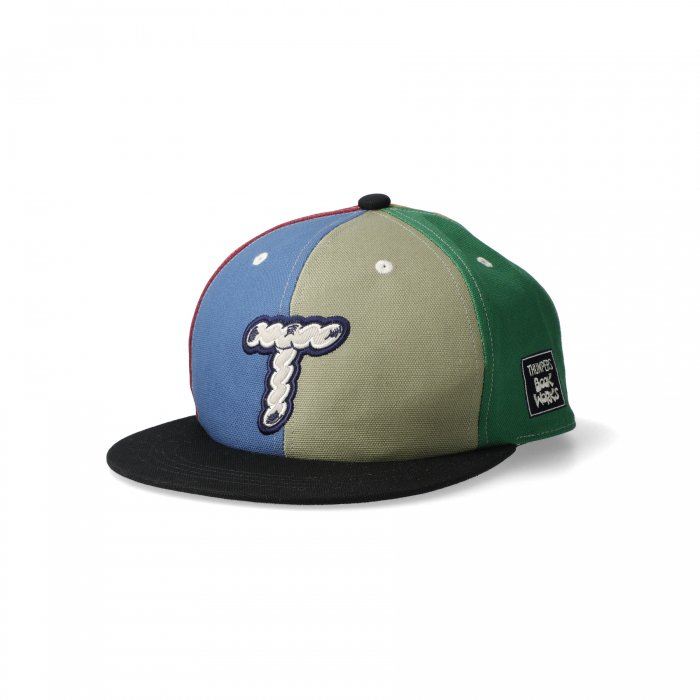 THUMPERS BROOKLYN NYC USA サンパース | ×BOOKWORKS LOGO MULTI COLOR CAP
