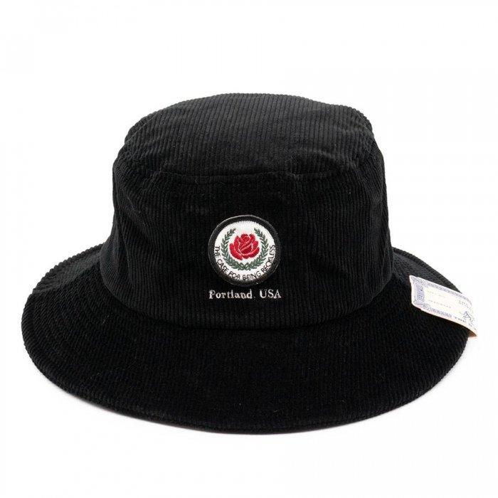 THE H.W. DOG&CO. ザ エイチダブリュードッグアンドコー | ROSE BUCKET HAT D-00608 - BLACK