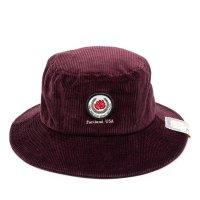 THE H.W. DOG&CO. ザ エイチダブリュードッグアンドコー   ROSE BUCKET HAT D-00608 - WINE