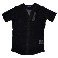 STILL GOOD AVANT GARDE BASEBALL SHIRT 2 - Black【SPECIAL】